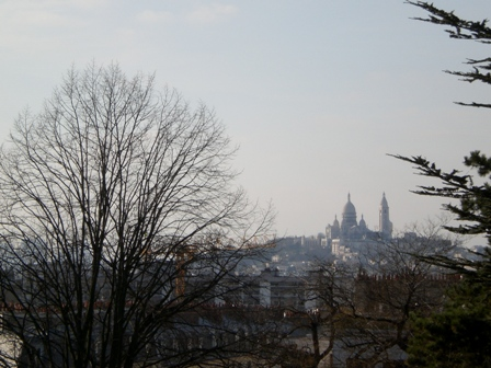 Sacre Coeur from Buttes Chaumont